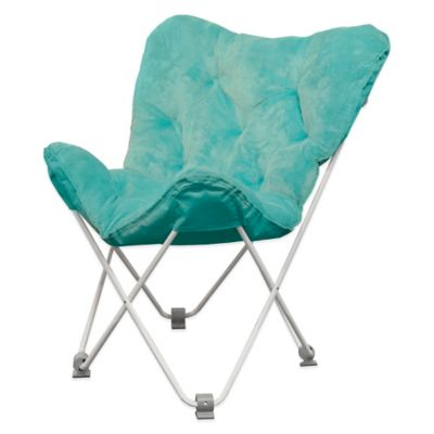 Tufted Folding Butterfly Chair  Bed Bath  Beyond