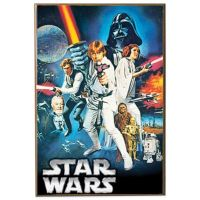 Buy Star Wars Episode 4 Wall Dcor Plaque from Bed Bath ...