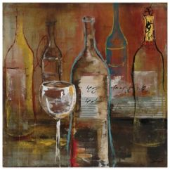 Brand New Kitchen Cost French Country Decor Wine Cellar Canvas Wall Art - Bed Bath & Beyond