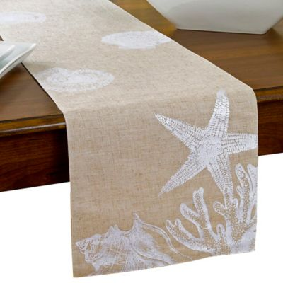 Shore Shells Table Runner Bed Bath Beyond