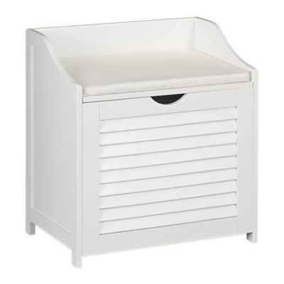 Buy Household Essentials Single Load Cabinet Hamper Seat from Bed Bath  Beyond