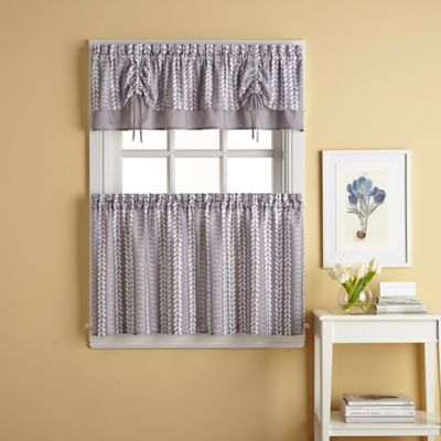 Buy Valance And Tier Curtains From Bed Bath & Beyond