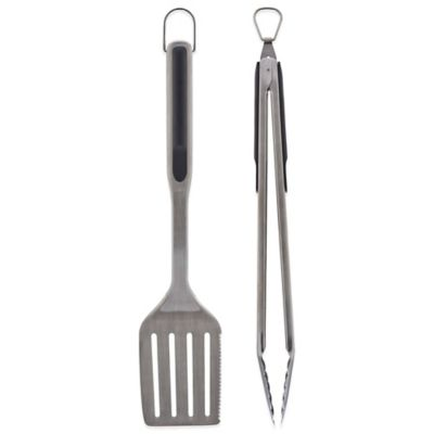 oxo kitchen utensils mega system good grips® 2-piece grilling utensil set - bed bath ...