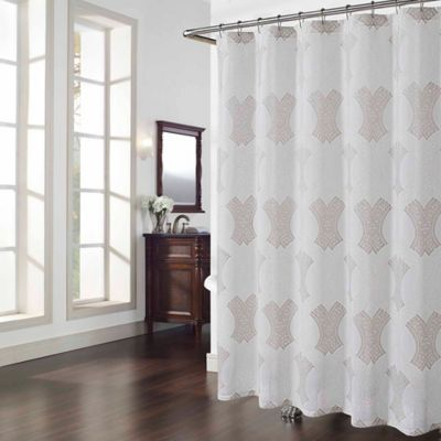 Chantal Shower Curtain In Ivory Bed Bath Amp Beyond