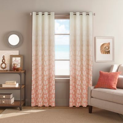 Buy Coral Curtains And Window Treatments From Bed Bath & Beyond