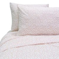 Coral Reef Sheet Set in Coral