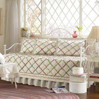 Laura Ashley Ruffle Garden Daybed Bedding Set - Bed Bath ...