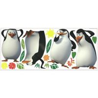 York Wallcoverings Penguins of Madagascar Peel and Stick ...