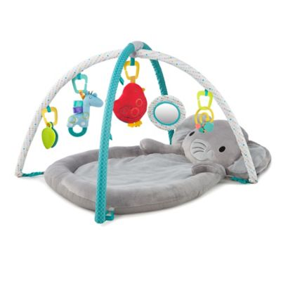 bed bath and beyond kitchen mat recessed led lights for comfort & harmony™ enchanted elephants activity gym™ - www ...