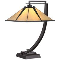 Buy Quoizel Tiffany Pomeroy Table Lamp in Western Bronze ...
