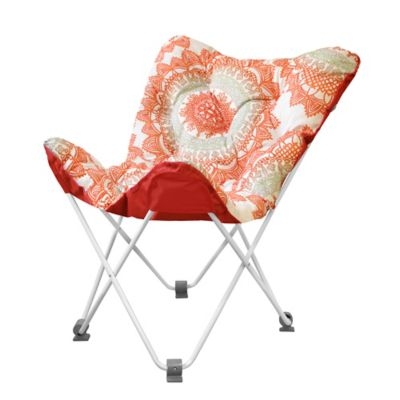 Buy Tufted Folding Butterfly Chair in Bungalow from Bed