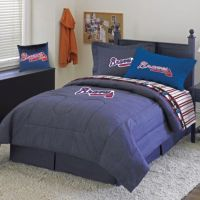 MLB Atlanta Braves Twin Comforter Set - Bed Bath & Beyond