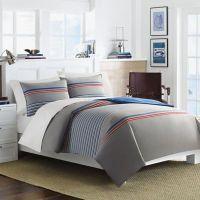 Nautica Dax Comforter Set in Grey - Bed Bath & Beyond