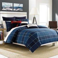 Nautica Akeley Comforter Set in Blue - Bed Bath & Beyond
