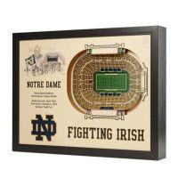 University of Notre Dame Stadium Views Wall Art - Bed Bath ...