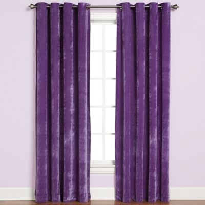 Buy Purple Window Treatments From Bed Bath & Beyond