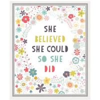Buy Floral Quote I Wall Art from Bed Bath & Beyond