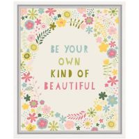 Floral Quote II Wall Art - Bed Bath & Beyond