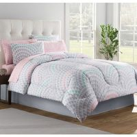 Buy Pink Grey Comforter Set from Bed Bath & Beyond