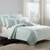 Buy Wamsutta Serenity Full/Queen Coverlet in Gold from