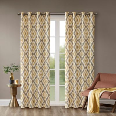 Buy Yellow Window Curtains From Bed Bath & Beyond