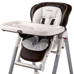Peg Perego Tatamia High Chair Make Up Chairs Buybuy Baby Booster Cushion In White