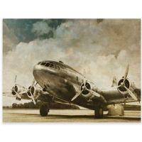 Vintage Airplane Canvas Wall Art - Bed Bath & Beyond