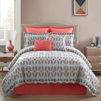 Clairebella Bermuda Comforter Set in Taupe - Bed Bath & Beyond