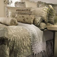 Austin Horn Collection Cascata Duvet Cover in Seamist ...