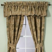 Buy Palm Tree Window Valances from Bed Bath & Beyond