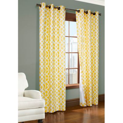 Buy Yellow Panel Curtains From Bed Bath & Beyond