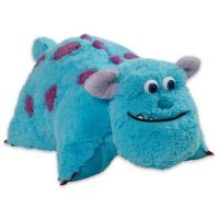 Pillow Pets Disney Sulley Folding Pillow Pet - Bed Bath ...