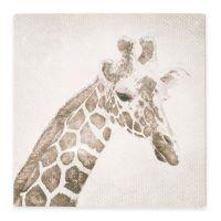 Giraffe Canvas Print Wall Art - Bed Bath & Beyond