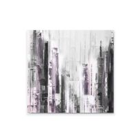 Abstract Cityscape Canvas Wall Art - Bed Bath & Beyond