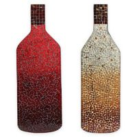 Mosaic Red Wine Bottle Wall Art - Bed Bath & Beyond