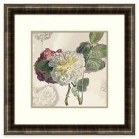 Floral Arrangement Framed Wall Art - Bed Bath & Beyond