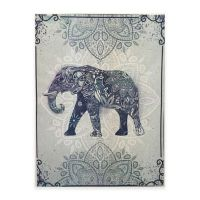 Graham & Brown Boho Elephant Canvas Wall Art