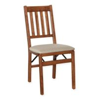 Buy Stakmore Arts & Crafts Wood Folding Chairs in Cherry ...