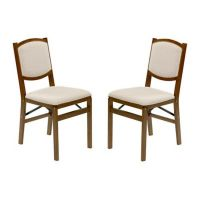 Buy Stakmore Contemporary Wood Folding Chairs in Fruitwood ...