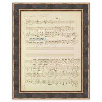 Modern Loft Beethoven Piano Concerto No. 4 Framed Wall Art ...