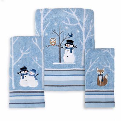Winter Friends Seasonal Bath Towel Collection Www