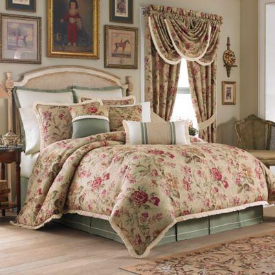 Croscill Cottage Rose Comforter Set