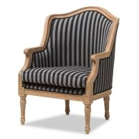 Baxton Studio Charlemagne French Accent Chair - www ...