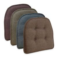Klear Vu Tufted Thatcher Gripper Chair Pad - Bed Bath ...