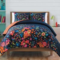 Bianca Reversible Comforter Set in Navy - www ...