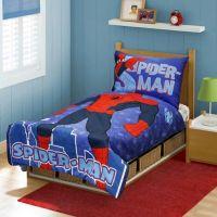 Spider-Man 4-Piece Toddler Bed Set - Bed Bath & Beyond