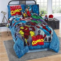Marvel Comics Reversible Comforter Set - Bed Bath & Beyond