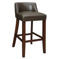 Buy Landon Low-Back Bar Stool in Chocolate from Bed Bath ...