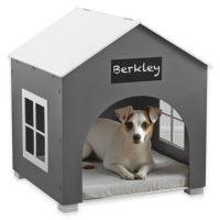 Pawslife Indoor Pet House in White/Grey - www ...