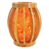 Himalayan Glow Bamboo Basket Salt Lamp